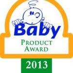BESTE BABY PRODUCT AWARD — 2013
