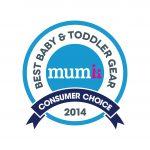 MUMMII CONSUMER CHOICE AWARD — 2014